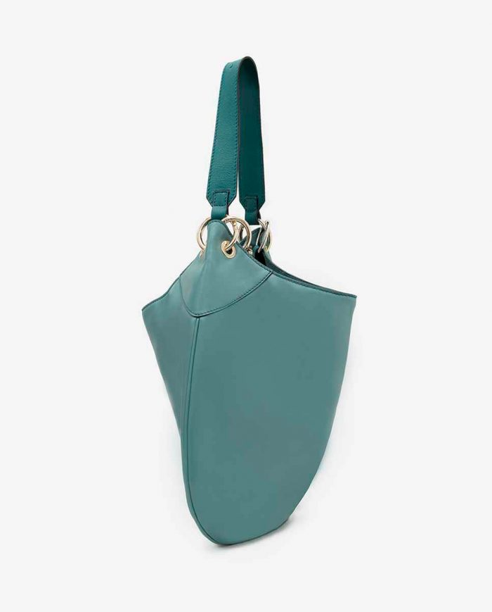 BOLSO SHOULDER HOBO REVIVAL VERDE AGUA