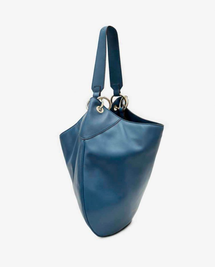 BOLSO SHOULDER HOBO REVIVAL AZUL MARINO