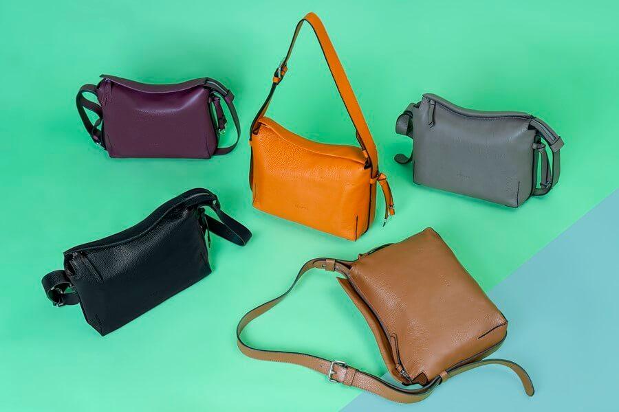 Bolsos shopping de diseño en piel Acosta colección Esenciales