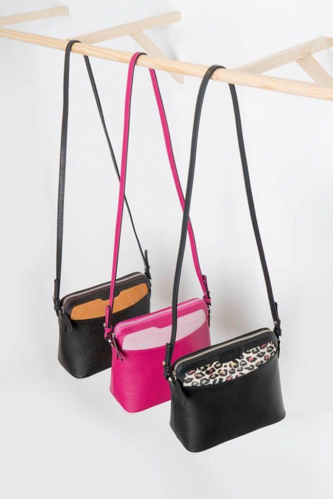 Colección de bolsos de piel de diseño Acosta