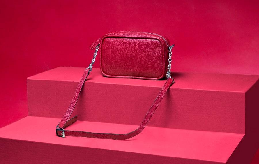 Colección esenciales 2 - bolso plumier rojo