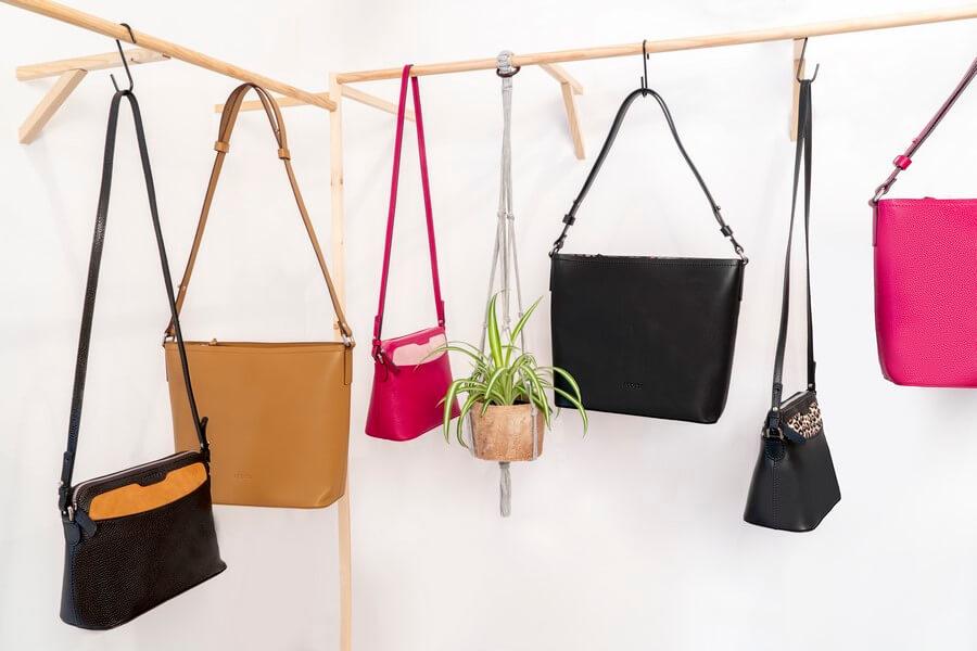 Bolsos de piel de diseño - Colección Cubica