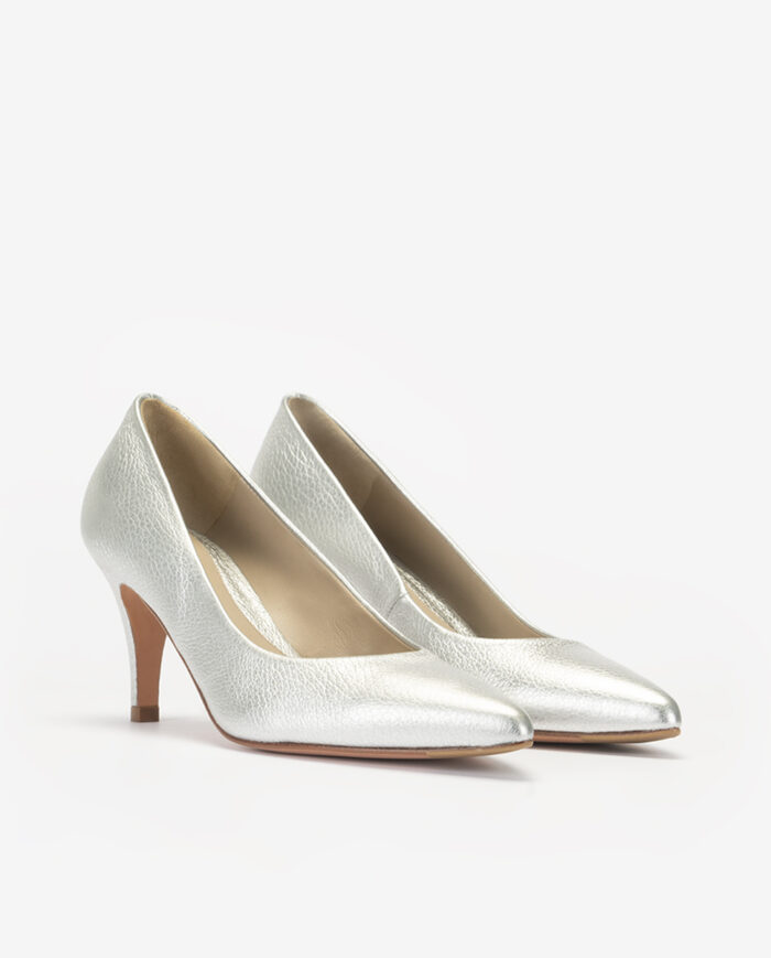 STILETTO TACÓN 65 PLATA